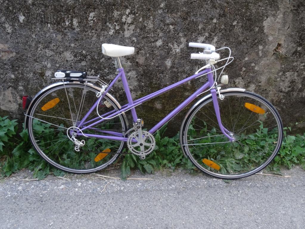 Restauration de vélo ancien. Réparateur de vélo Annecy Mountain Bike